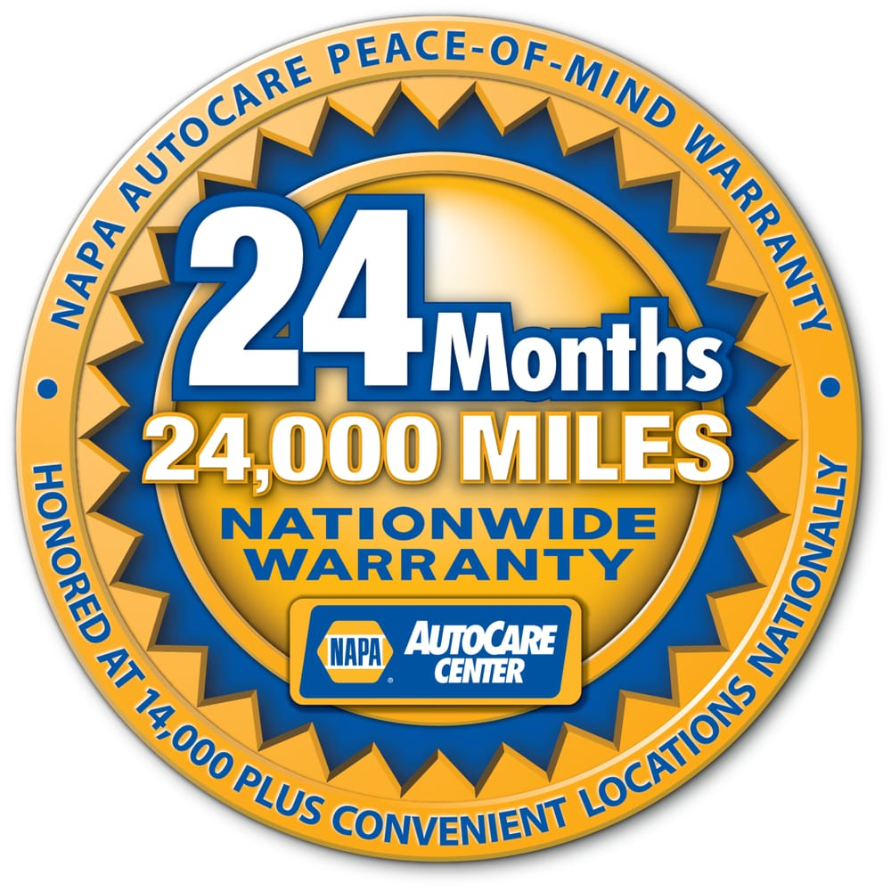 Nationwide NAPA AutoCare warranty