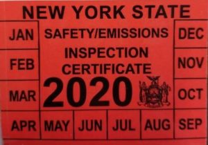 NYS Inspection 2020